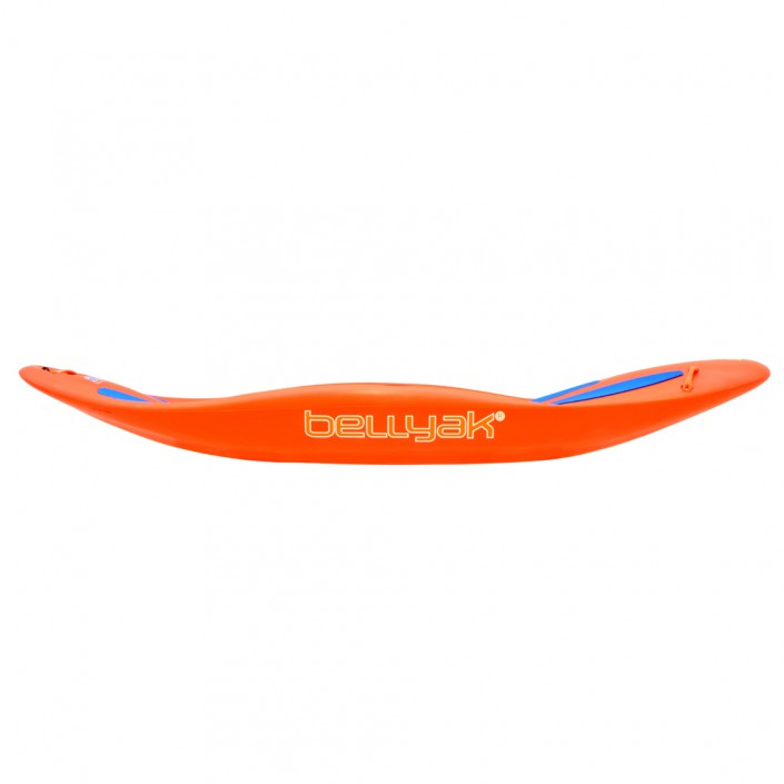 Play 35 - orange boat - side view
