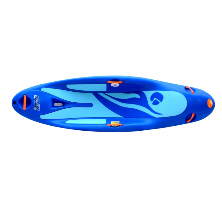 Play 45 - blue boat - top view