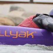 Paddling on the Bellyak