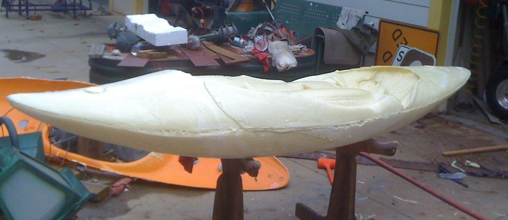 Bellyak Plug ready for shaping.