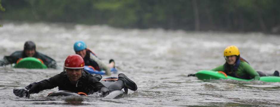 Team Bellyak on the French Broad River. Photo: Effort, Inc.