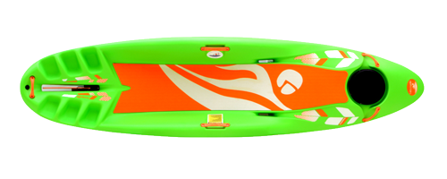 Frequency boat - top view