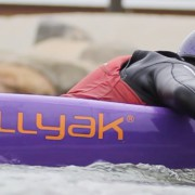 Paddling on the Bellyak
