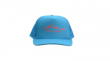 Teal Trucker Hat