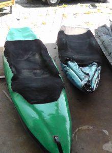 History of the bellyak: Green prototype