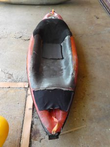 History of the bellyak: Red prototype