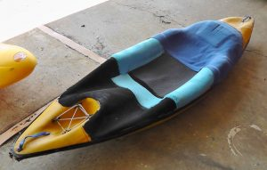History of the bellyak: Yellow prototype