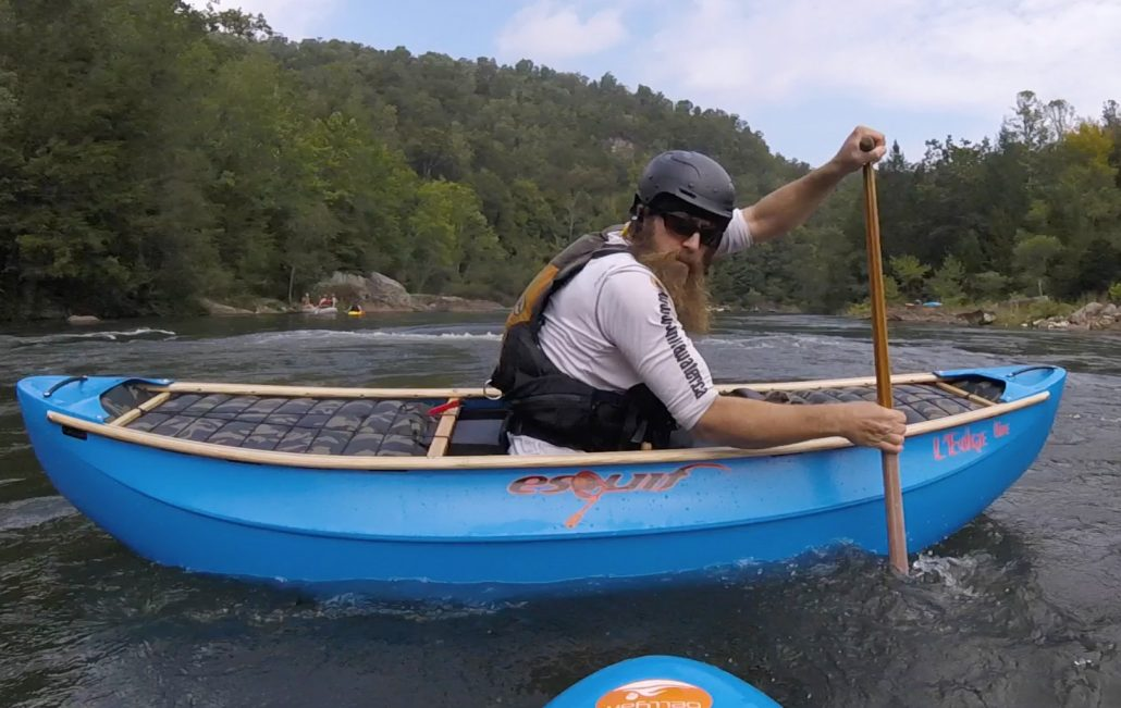 View from the bellyak of Canoe Guru, Eli Helbert