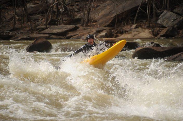 Bellyaking on the Ocoee River