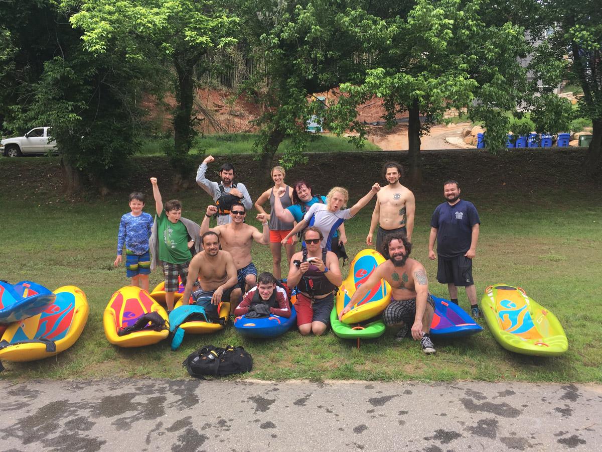 Bellyak crew