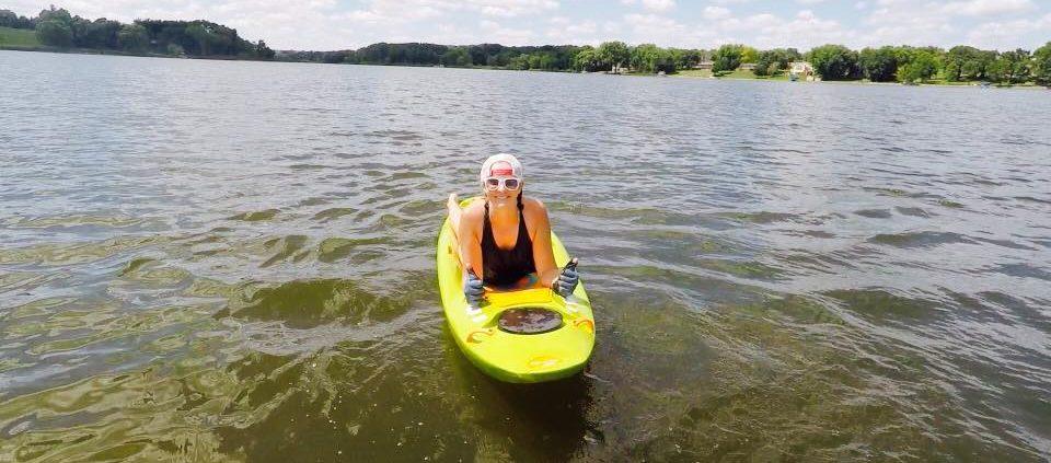 Lake bellyak workouts