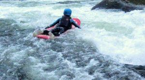 Bellyaking on the Nantahala River
