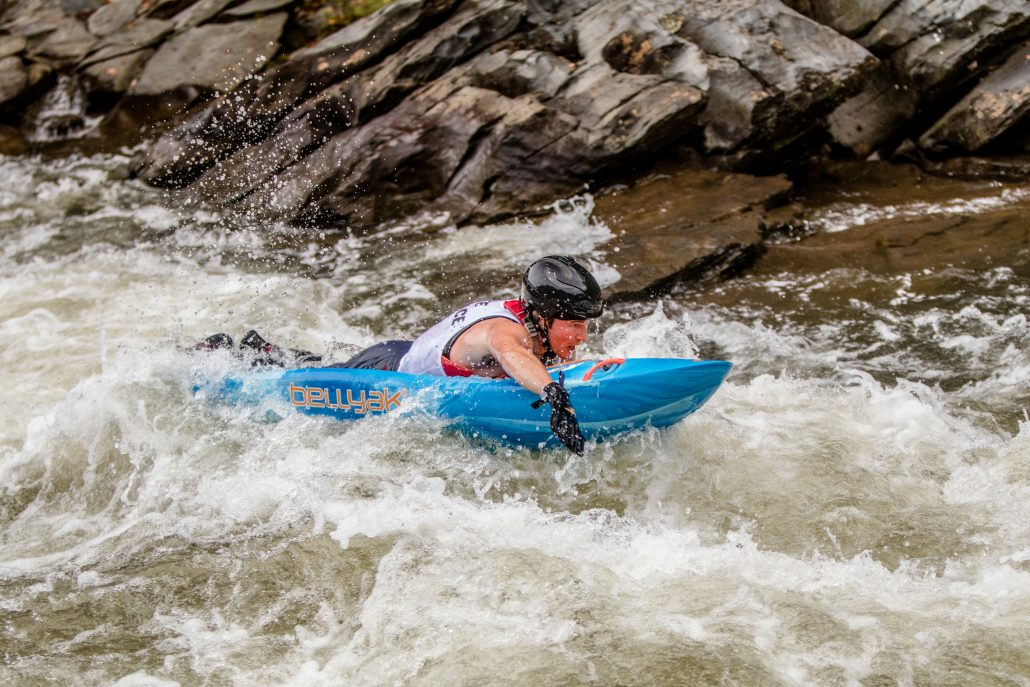 Prone Whitewater Racing on the Ocoee River