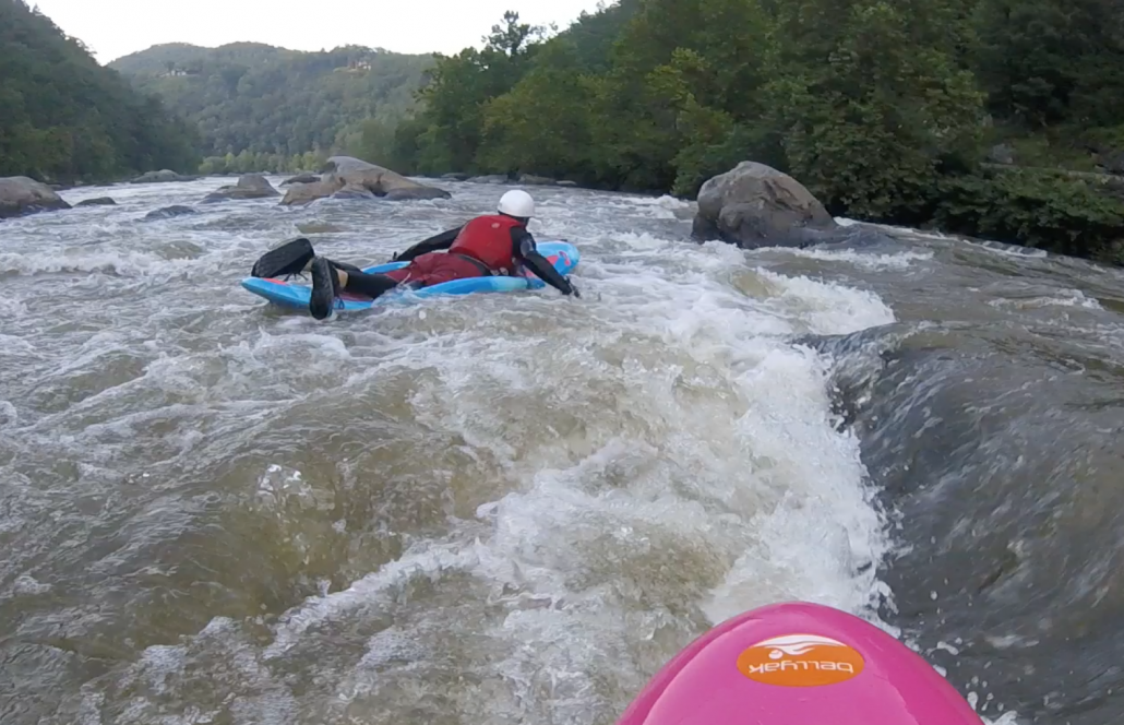 Where to Bellyak: French Broad Section 9   Bellyak Boats