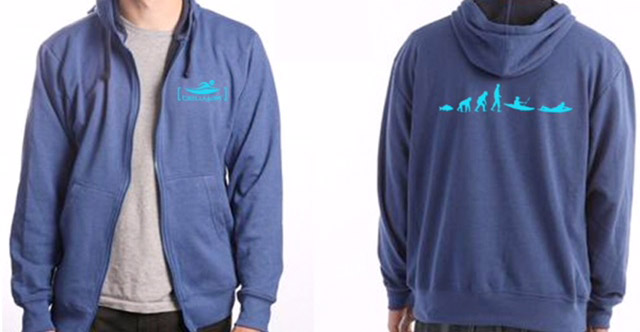 Bellyak Hoodies front and back