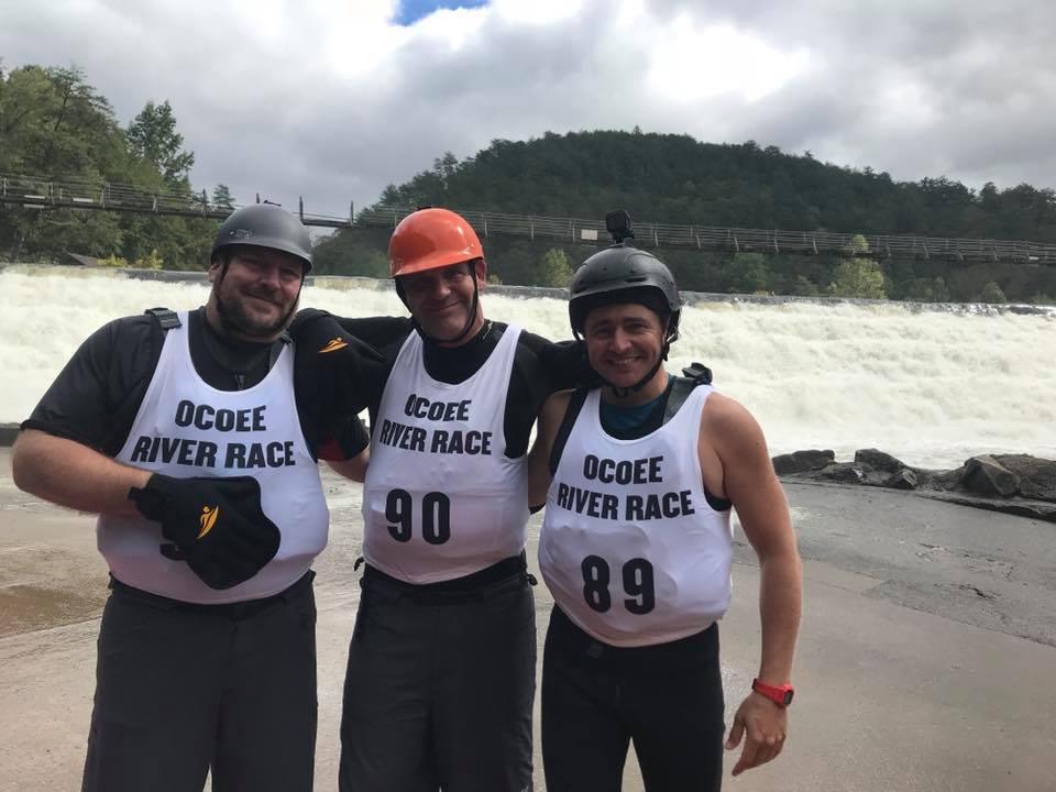 Competitors from the Bellyak division