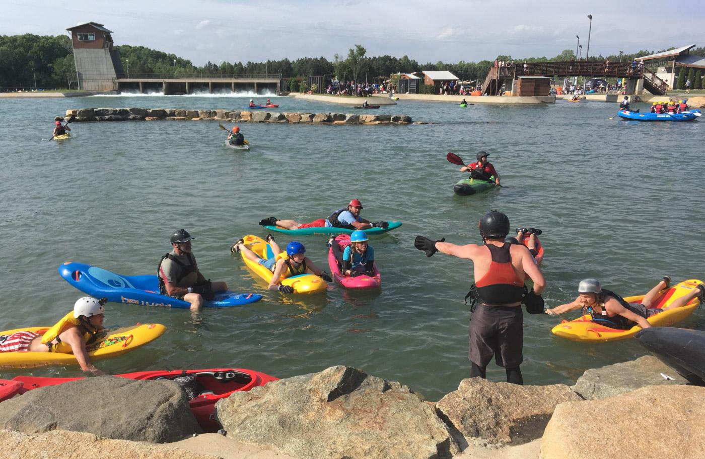 Kayaks vs. Bellyaks